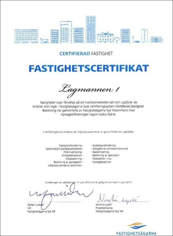 Fastighetscertifikat